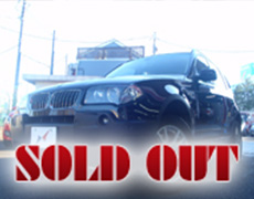 【SOLD OUT】BMW X3 2.5i 4WD