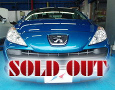 【SOLD OUT】PEUGEOT 207CC