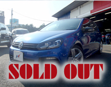 【SOLD OUT】VW Golf R