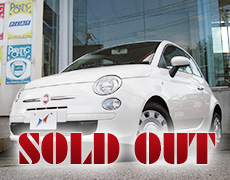 【SOLD OUT】FIAT 500 1.2POP