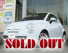 【SOLD OUT】FIAT 500 1.2Sport