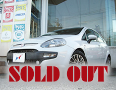 【SOLD OUT】FIAT Punto Evo Dynamic