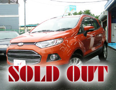 【SOLD OUT】Ford ECOSPORT TITANIUM