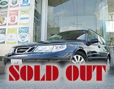 【SOLD OUT】SAAB 9-5 リニア2.3t エステート
