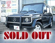 【SOLD OUT】Mercedes-Benz G320 Long
